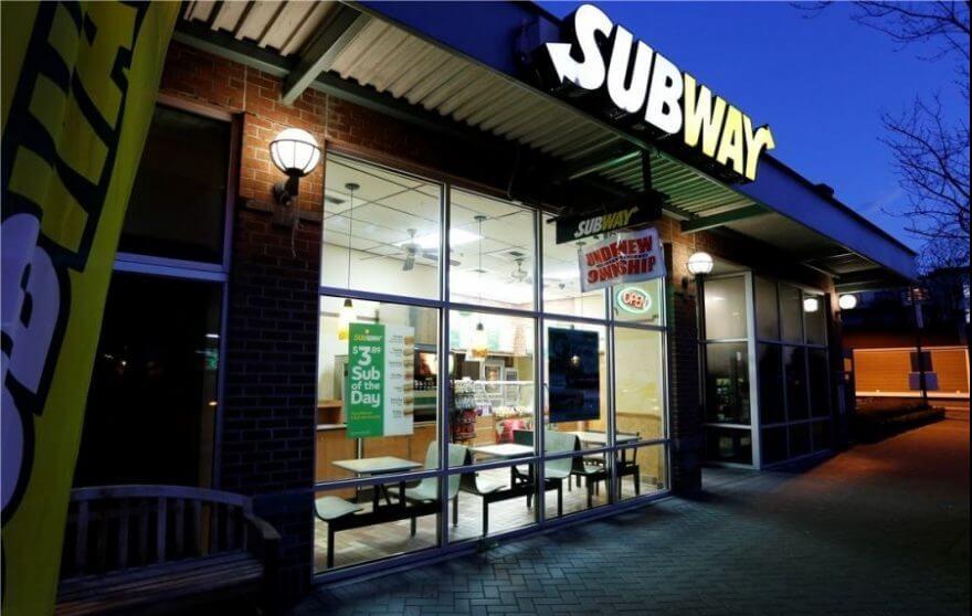 رستورانهای زنجیره ای SUBWAY