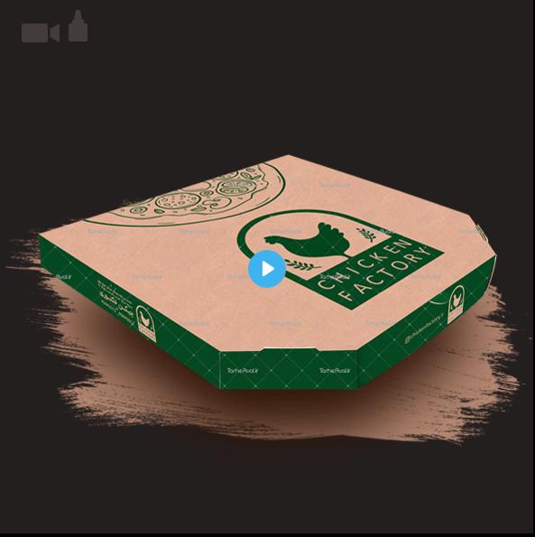 چاپ با کیفیت جعبه پیتزا
